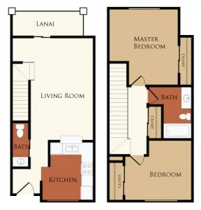 Two bedroom apartments for rent in Wildwood, FL