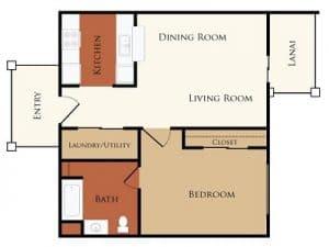 One bedroom Apartment Rental